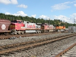 BNSF 633, 951, and 4140